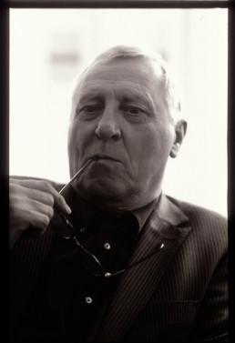 Julieta Schildknecht, portrait of Peter Greenaway. Photograph © Julieta Schildknecht