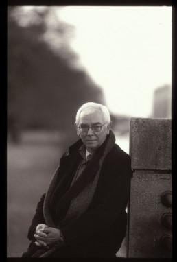 Julieta Schildknecht, portrait of Terence Davies. Photograph © Julieta Schildknecht