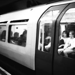 Julieta Schildknecht, Thank You Note, activist action at the London Underground © Julieta Schildknecht